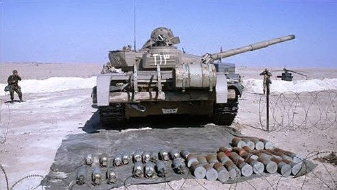 Abandoned T-72M1/Asad Babil in Iraq, 2003