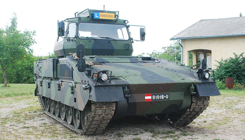 Austrian driver training vehicle based on the ASCOD