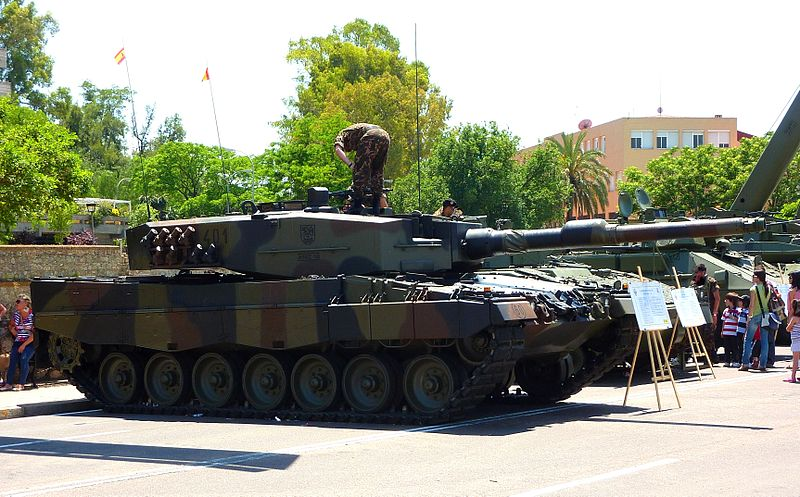 Spanish Leopard 2A4