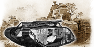 ww1 era tanks and armoured cars