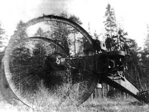 By far the most famous photo of the Tsar tank - Photo: As taken from Landships.info