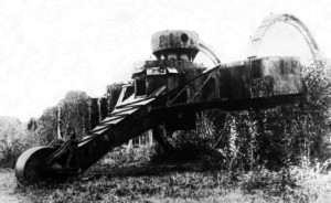 Rear view of the Tsar tank prototype - Photo: As taken from foto-history.livejournal.com