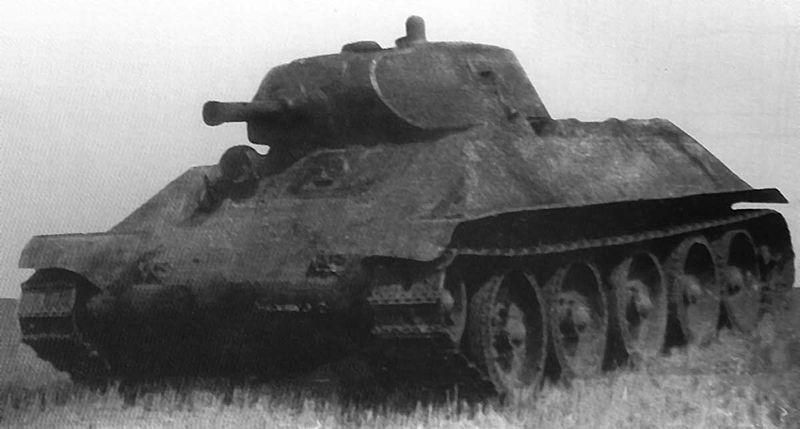 A-32 tank prototype