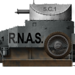 Lanchester 4×2 armored car