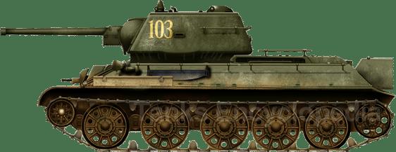 T-34/76 model 1943, unit unknown, Kursk, July 1943