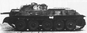 The other side of the same captured SU-122