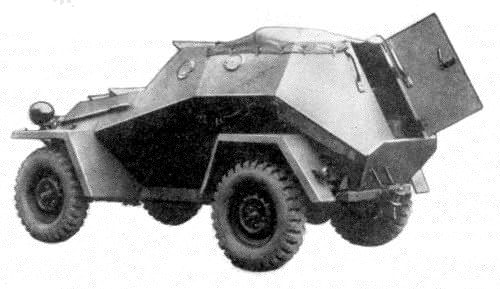 A BA-64E, the APC version