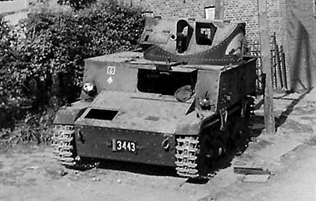 abandoned T13 B2 tank