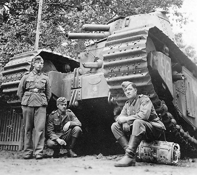 This tank is No 92 Picardie which broke down in Pienne due to an electrical fault on 12th June 1940