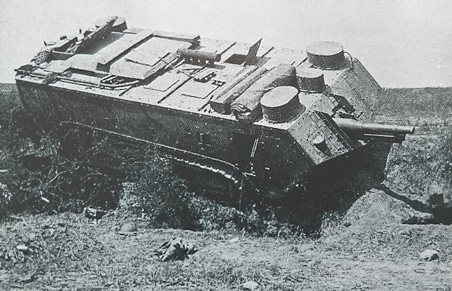 Char Saint Chamond tank WW1