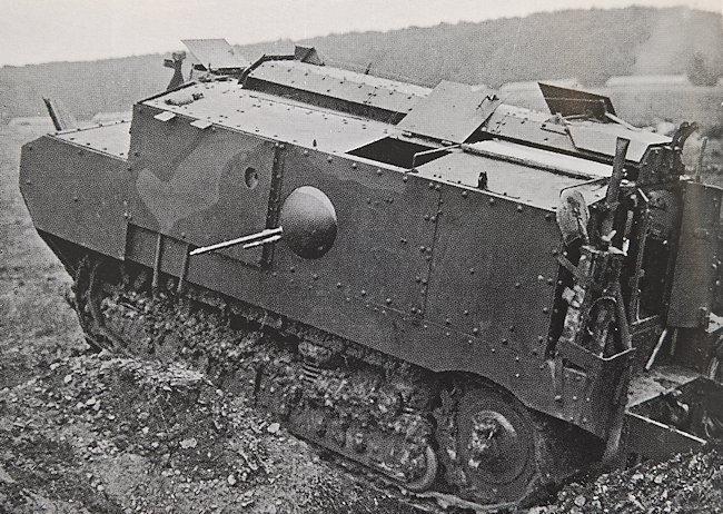 WW1 Char Schneider CA-1 tank