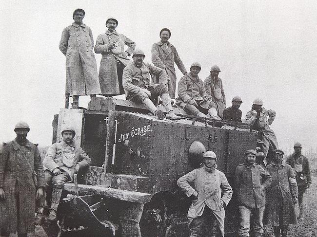 Char Schneider CA-1 tank