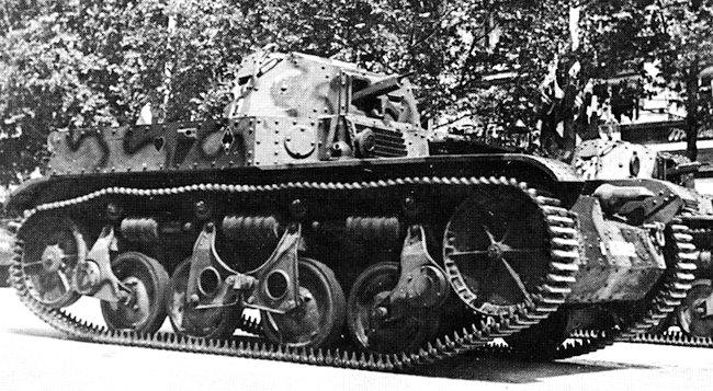 Renault AMR-35 tank