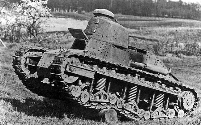 Renault NC-1 tank trials