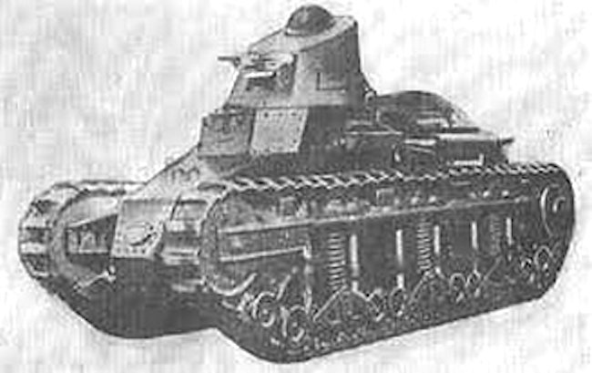 The Renault NC28 tank