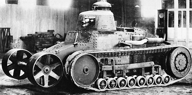 The Renault NC2 Tank prototype