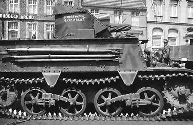 Belgium Army T13-B3 Tank Destroyer