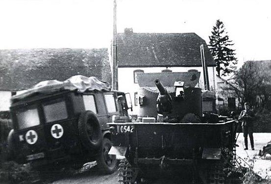 Belgian T-13 tank destroyer