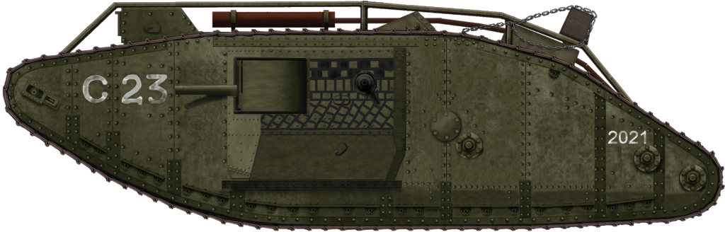 Male Mark IV tank 2021 C24/C23 Crusty captured.