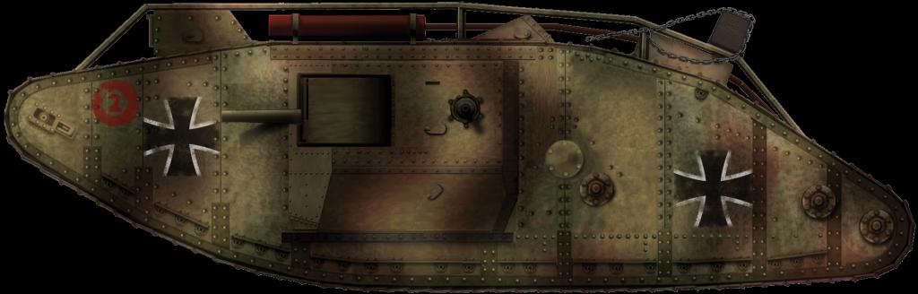 Beutepanzer Wagen IV (b)
