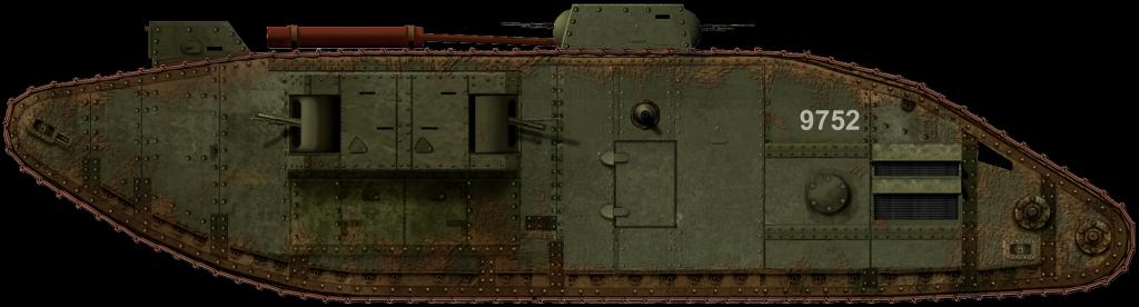 tank Mk.V star