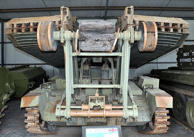 Covenanter Bridgelayer tank- Royal Australian Armoured Corps Tank Museum Puckapunyal, VIC, Australia