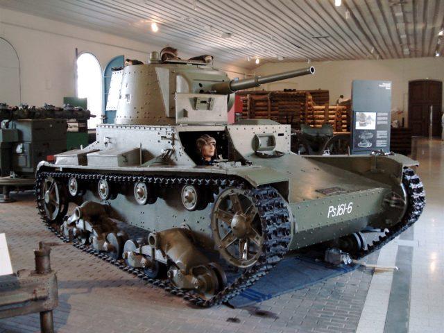 Finnish Vickers 6-ton