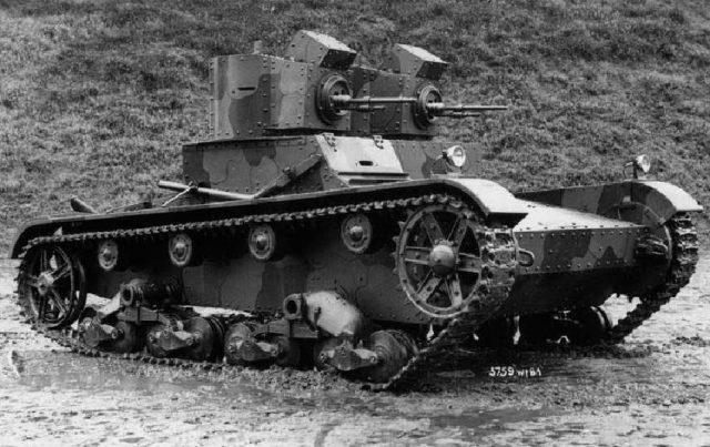 Polish Type A, Vickers 6-ton tank