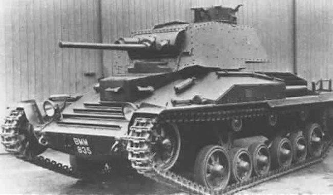This is the prototype A10E1 British Cruiser tank