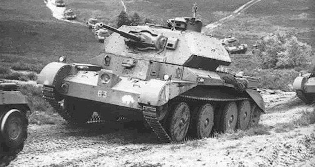 A13 Mk.II Cruiser Mk.IV tank squadron