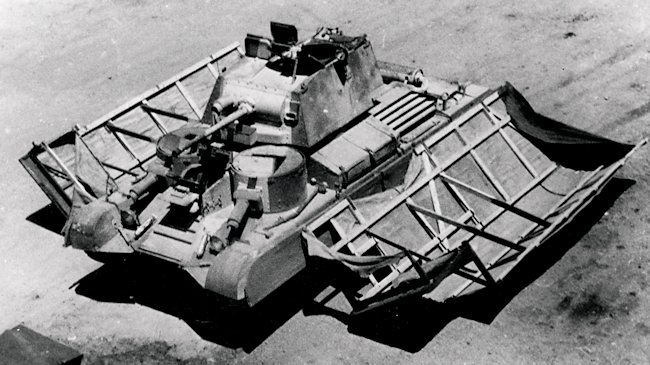 Operation Bertrum Cruiser Mk1 A9 Sunshield