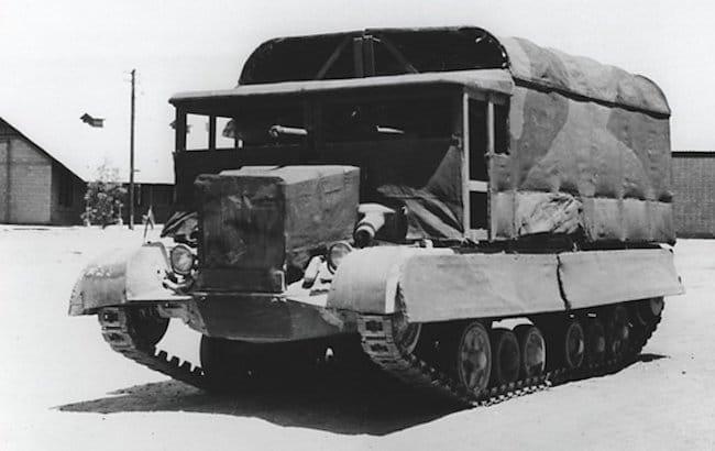 Op Bertrum A9 Cruiser MkI tank