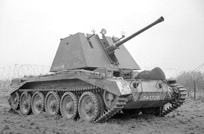 Crusader III anti-aircraft tank with 40mm Bofors gun