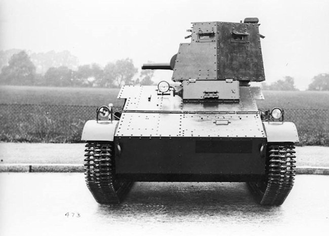 Vickers Carden-Loyd Light Tank Mk IV India