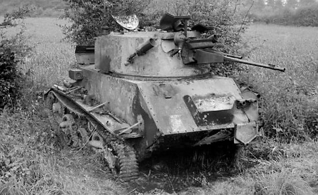 Vickers Light Tank Mk.VIc in France, June 1940