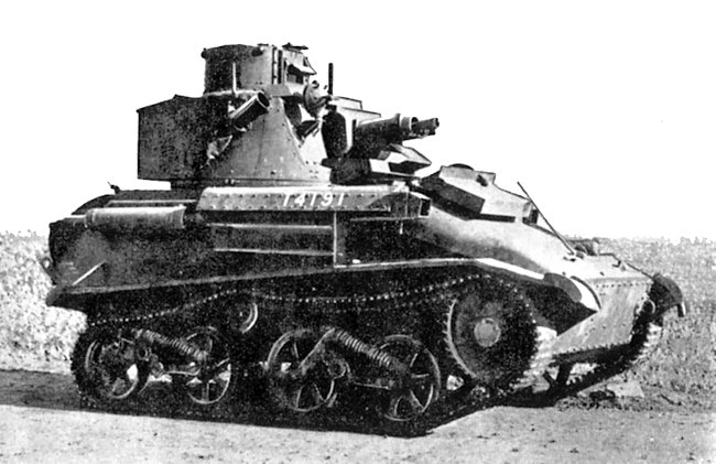 Vickers Light Tank Mk.VIb