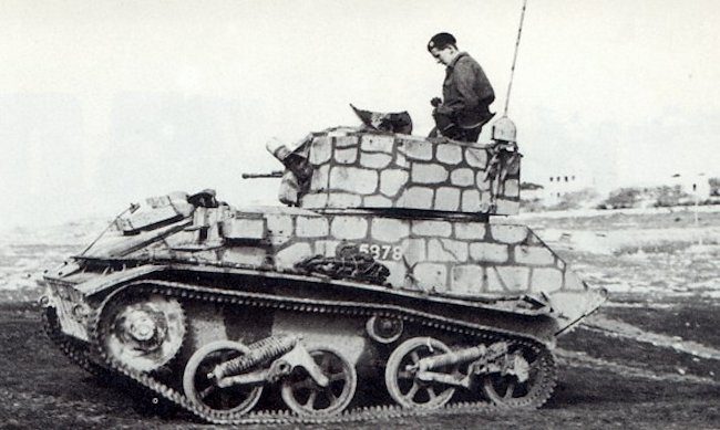 Vickers Light Tank Mk.VIc, Malta, 1942