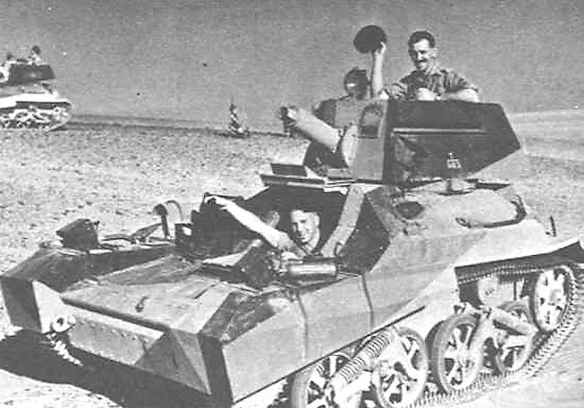 Vickers Mk.III in the Desert