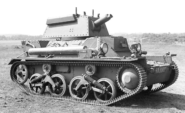 Vickers Mk.III Light Tank
