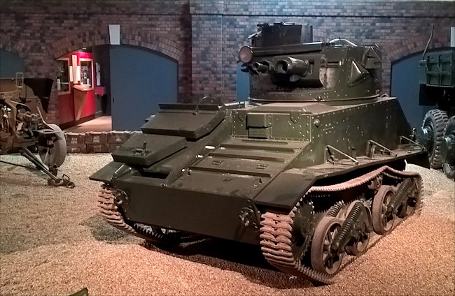 Vickers Light Tank Mk.VI at the Imperial War Museum Duxford