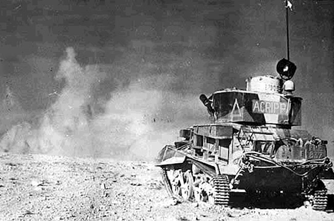 Vickers Light Tank Mk.VI in North Africa, 1940