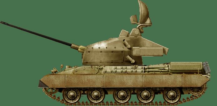 United Emirati Arab Army AMX-30SA SPAAG