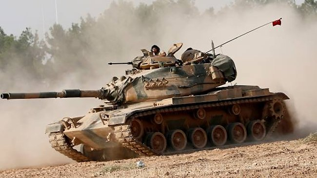Turkish Army M60A3 tank
