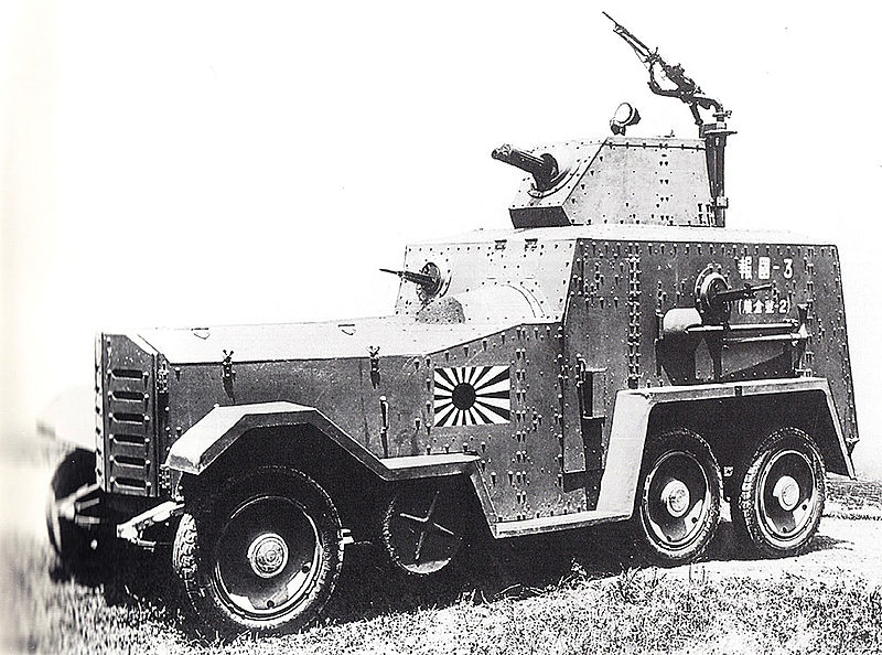 Hokoku Armoured Car