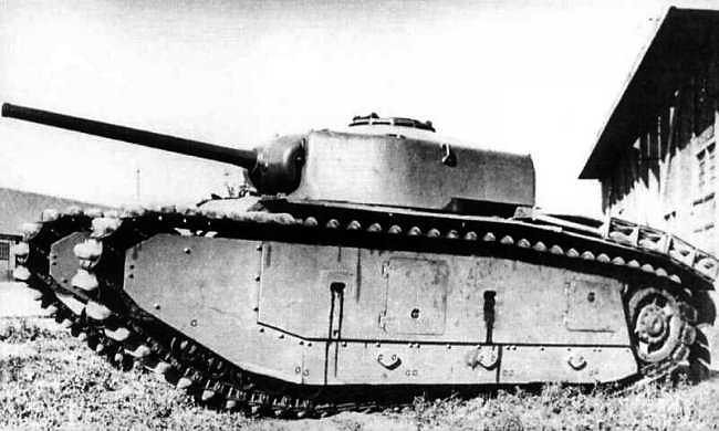ARL-44 with prototype turret.