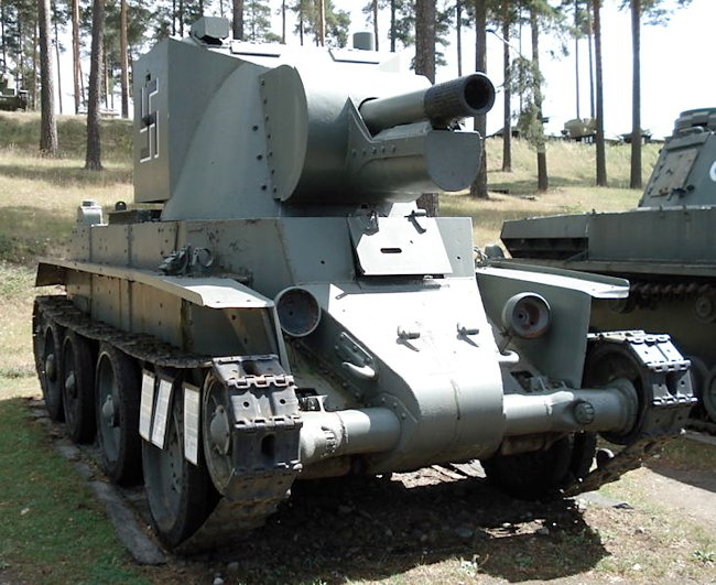 Bt-42 Finnish Army tank at Parola Tank Museum