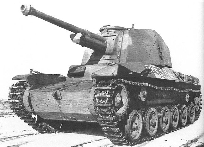 Captured Type 3 Chi-Nu Tank with camouflage livery