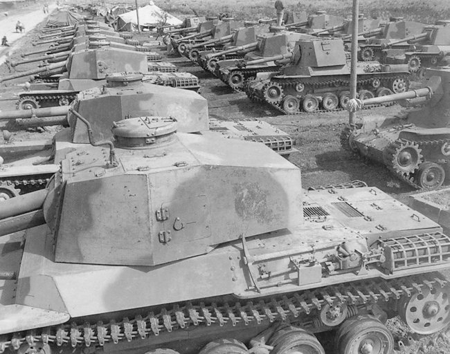 US 4th Armored Division captured these Type 3 Chi-Nu Tanks and others