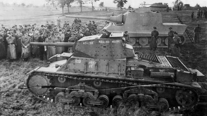 carro armato p26/40 Italian tank