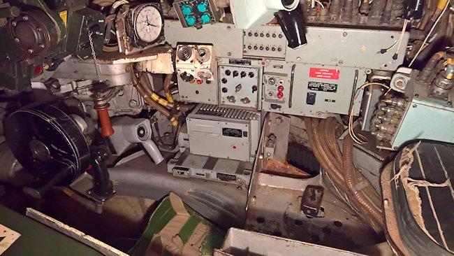 Inside a Chieftain Tank Mk2/3